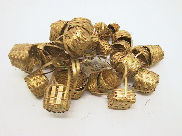Minikorb S/32 2+3+3,5cm GOLD 2+3+3,5cm
