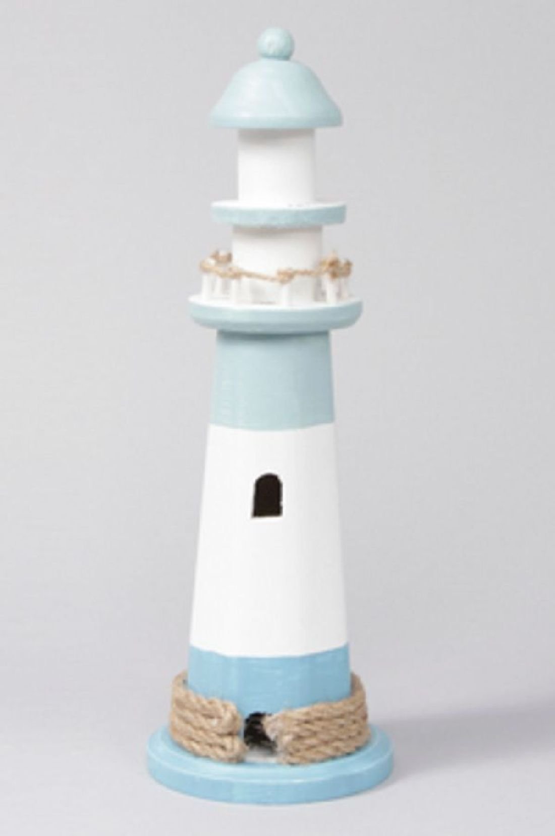 Leuchtturm BLAU-WEISS 345675 Ø10cm H=30cm
