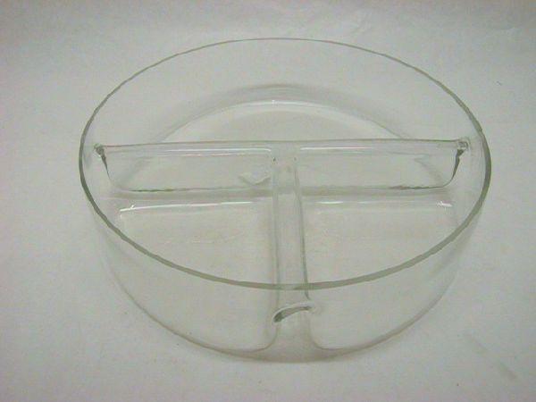 Schale mit Trennung KLAR 30x8cm