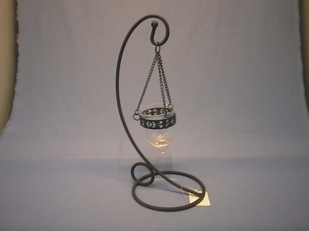 Kerzenhalter m.Glas KLAR         x1/ 30cm