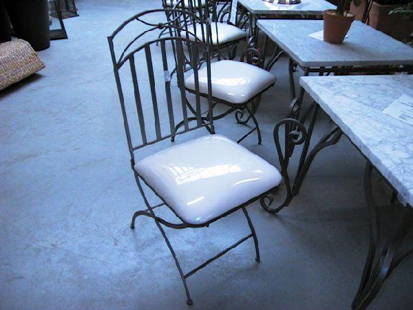 Stuhl Bezug weiss ANTHRAZIT 40x40x100cm