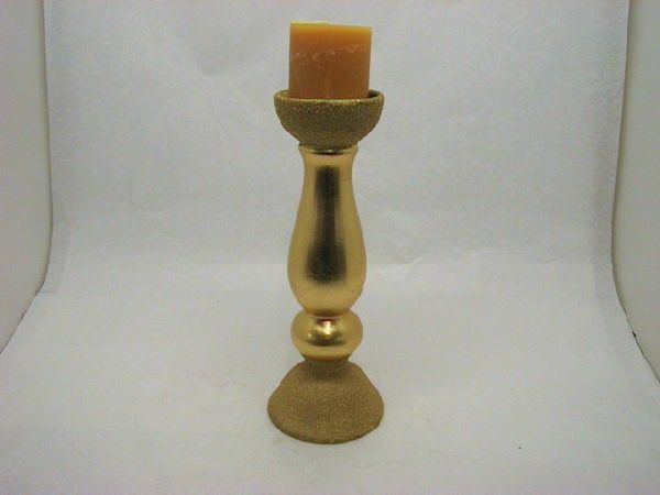 Kerzenständer GOLD 12x32cm