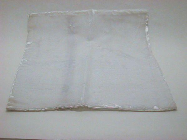Kissenhüllen Samt WEISS 40cm x40cm