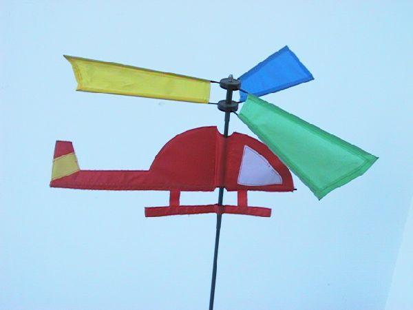 Windrad Helikopter BUNT *55cm