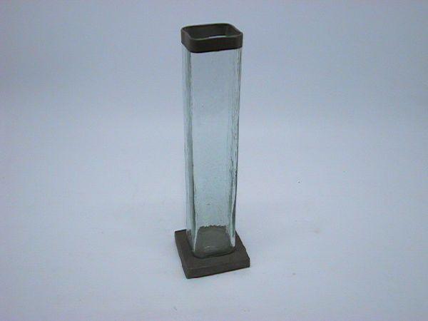 Vase a.Fuss KLAR 5x23cm
