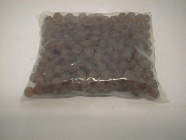 Perlen matt AMBER 8mm