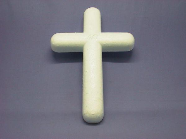 Styropor Kreuz Styropor 40/27cm