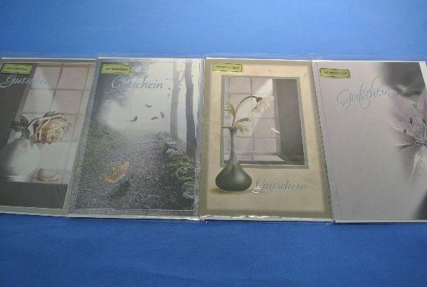 Karten Trauer Gutschein 914008123 11,5x17cm 20St.