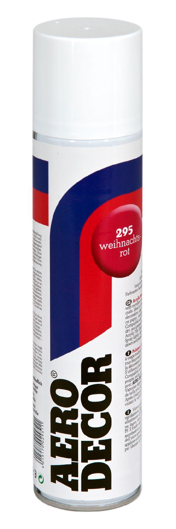 Colorspray, Farbspray WEIHN. ROT 295 400 ml
