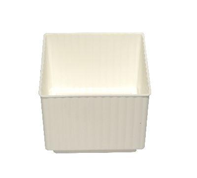 Steckwürfel WEISS 6,5 cm Domino