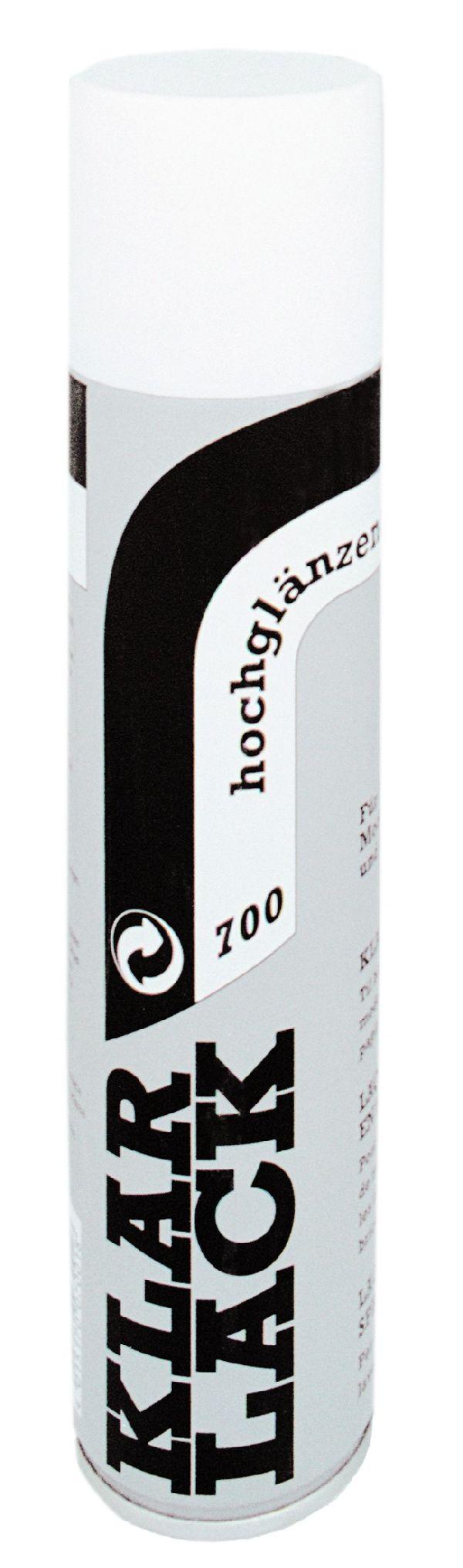 Sprühlacke klarlack 700 400 ml hochglänzend