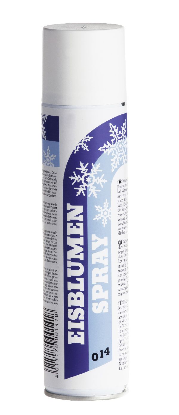 Eisblumenlack Spray klar 14 400 ml