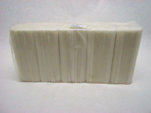 Plissee Topfmanschetten WEISS 145 mm