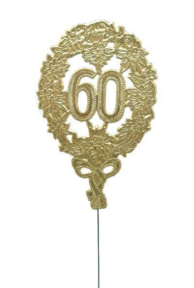Jubiläumszahlen GOLD 60er