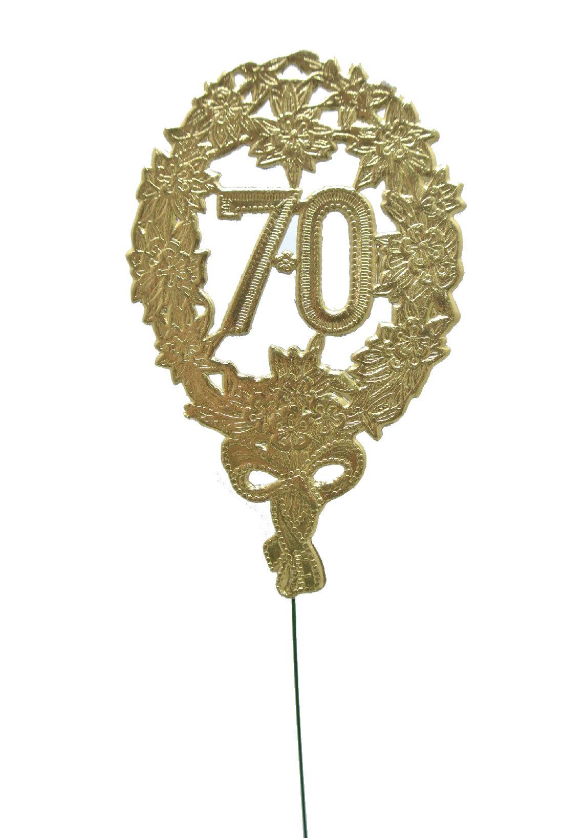 Jubiläumszahlen GOLD 70er