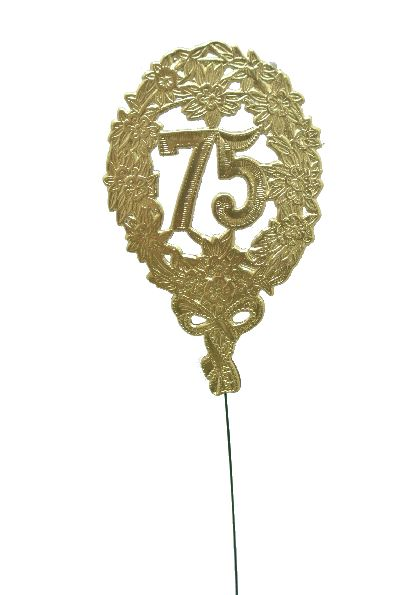 Jubiläumszahlen GOLD 75er