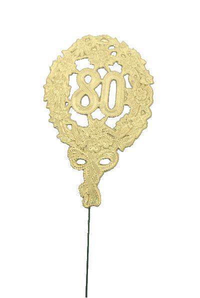 Jubiläumszahlen GOLD 80er