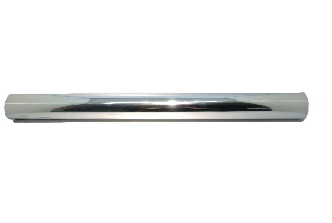Folie metallise / Glanzfolie SILBER-silber 70cm/50m Geschenkfolie