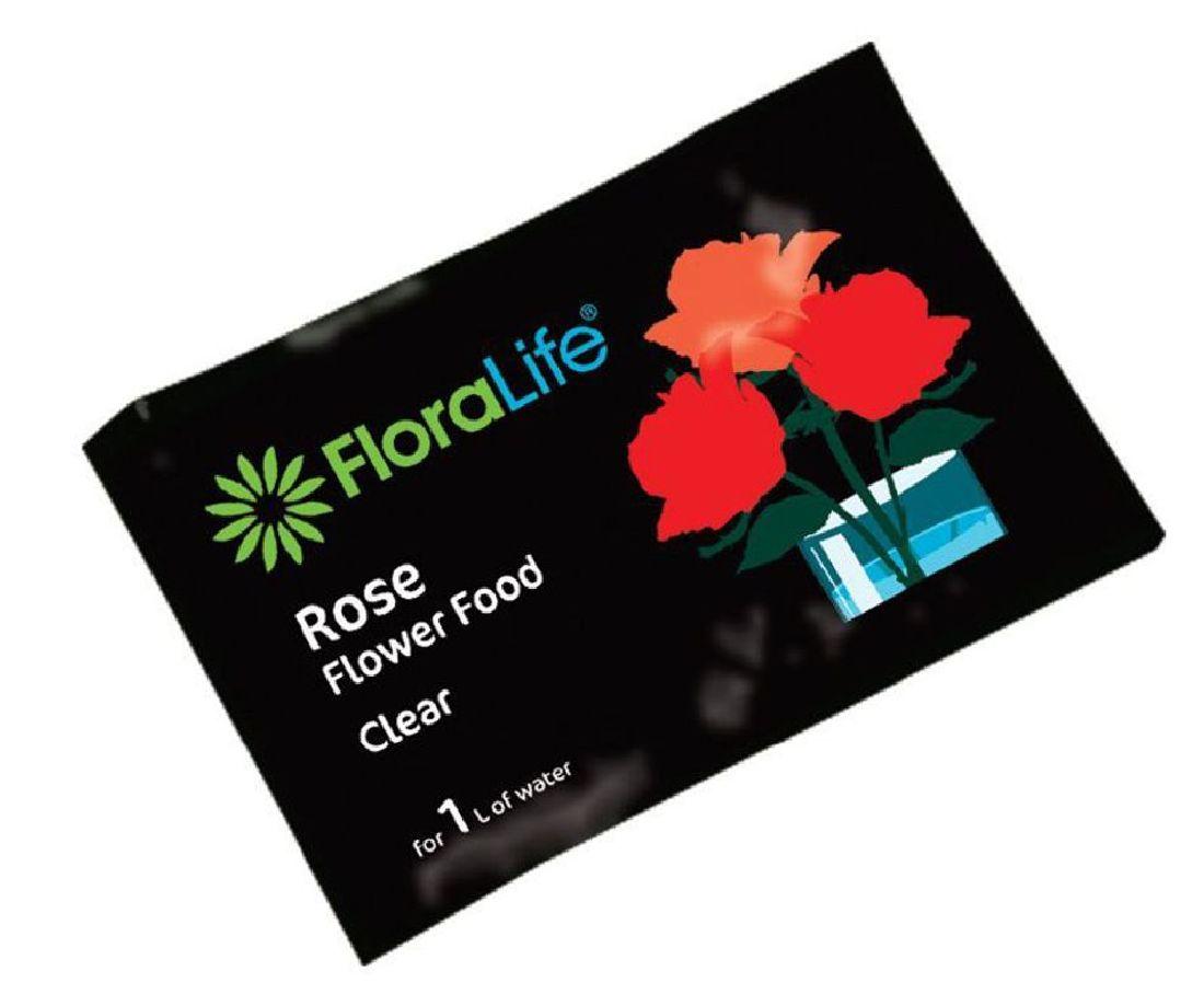 Oasis® Flower Fresh 82-11011 für 1 Liter Wasser 10 g Beutel Rose Food Clear