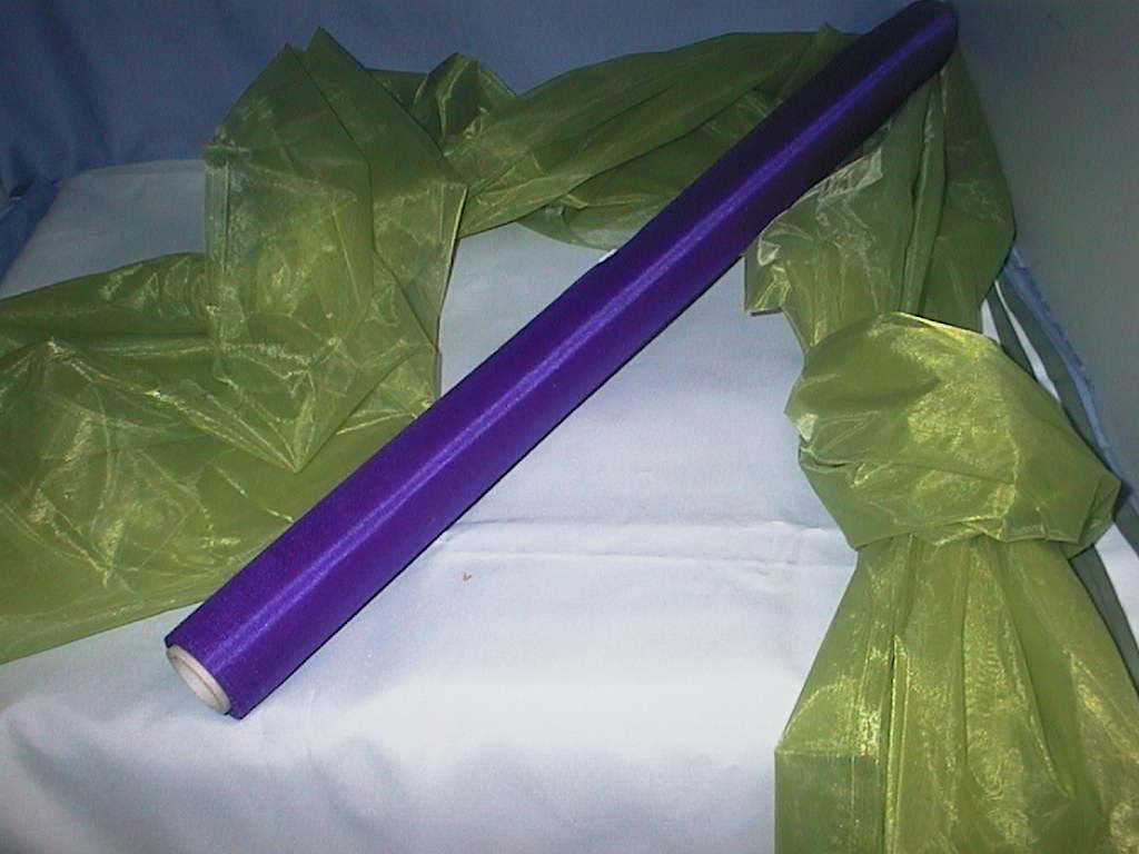Organza (Tüll fein) 47 LILA 70cm