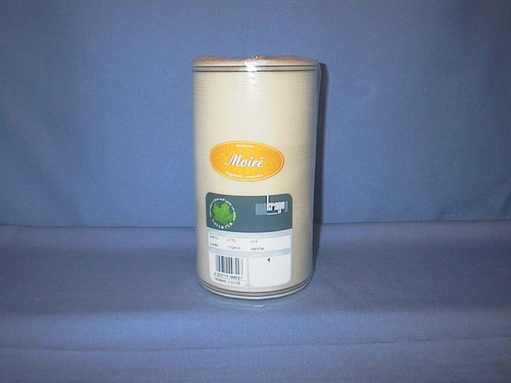 Kranzband Krago vanille 14 175mm 25m Goldkante