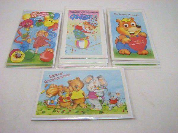 Karten Geb. Kinder 20-er