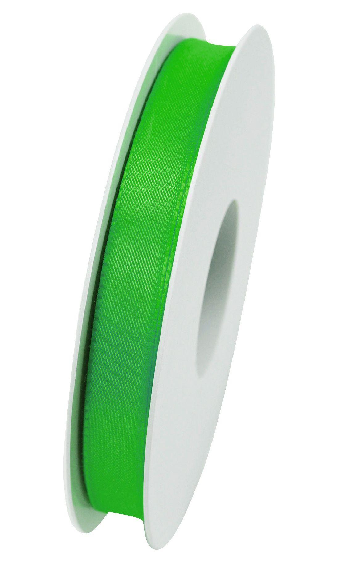 Basic ohne Draht / Taftband hellgrün 55 15mm 50m