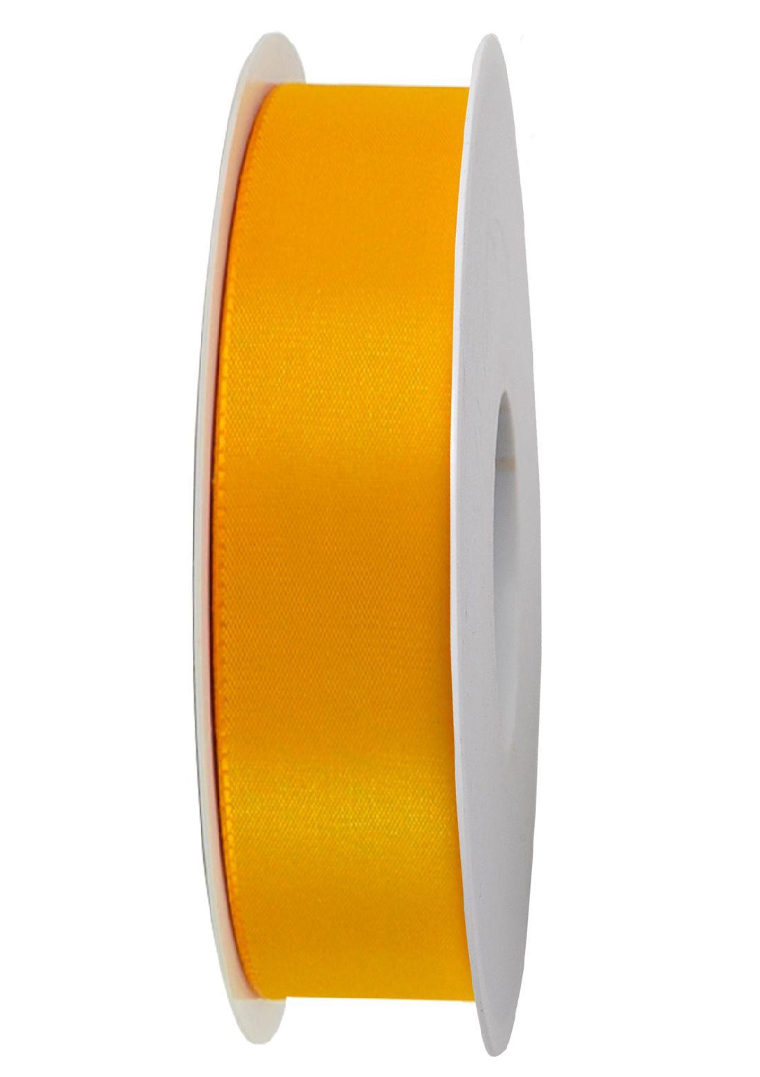 Basic ohne Draht / Taftband GELB 16 25mm 50m