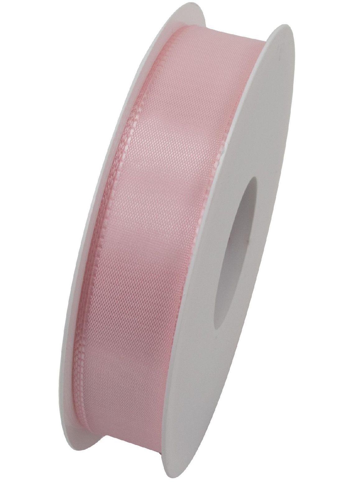 Basic ohne Draht / Taftband HELLROSA 211 25mm 50m