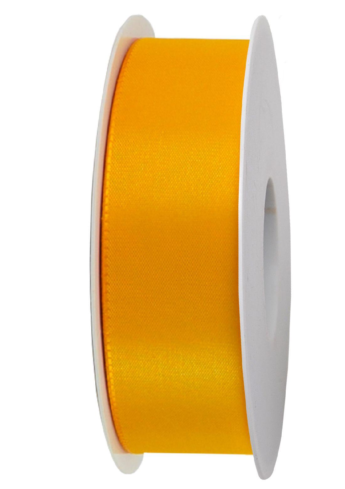 Basic ohne Draht / Taftband GELB 16 40mm 50m