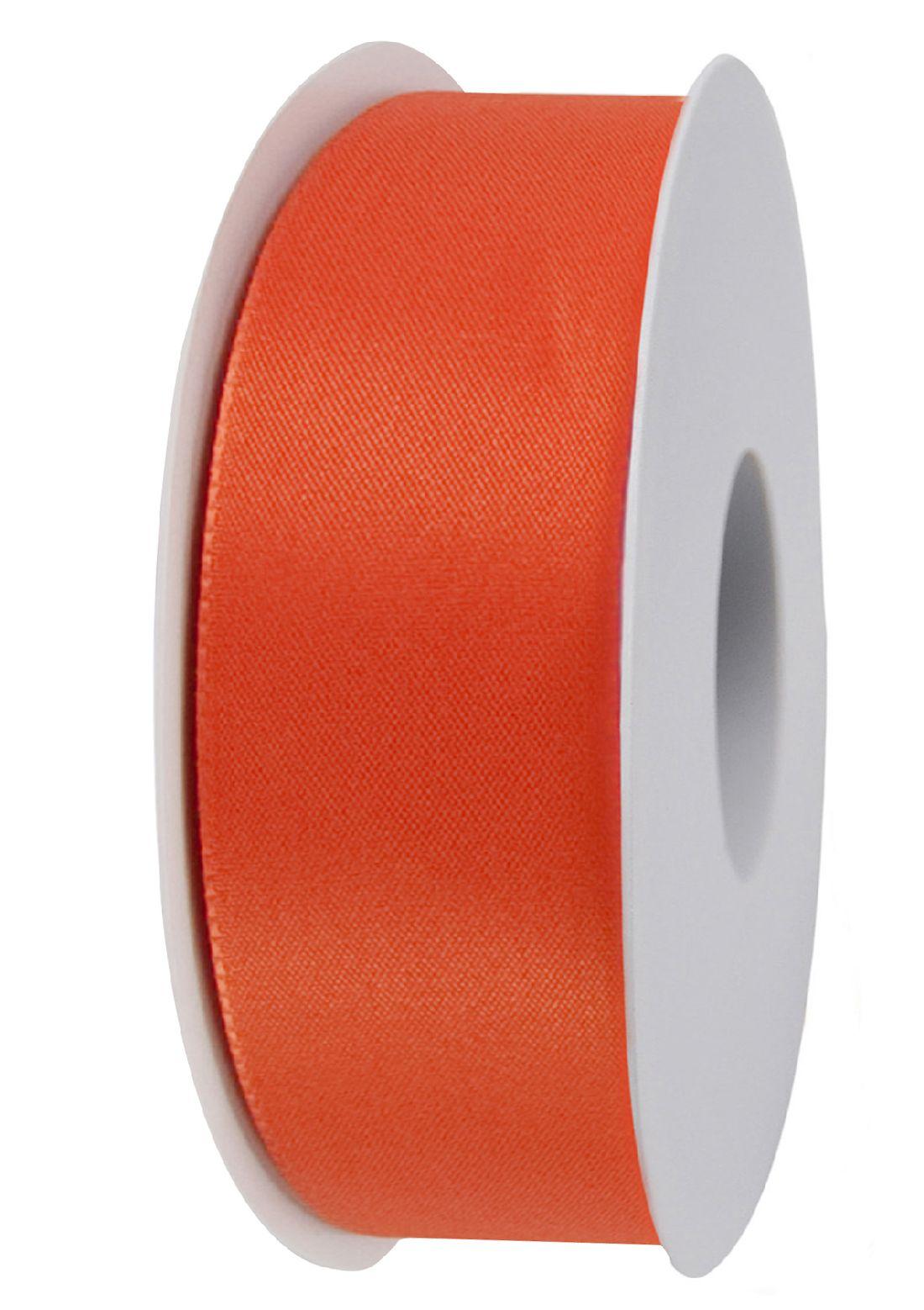 Basic ohne Draht / Taftband ORANGE 401 40mm 50m