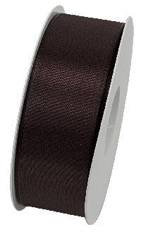 Basic ohne Draht / Taftband BRAUN 70 40mm 50m