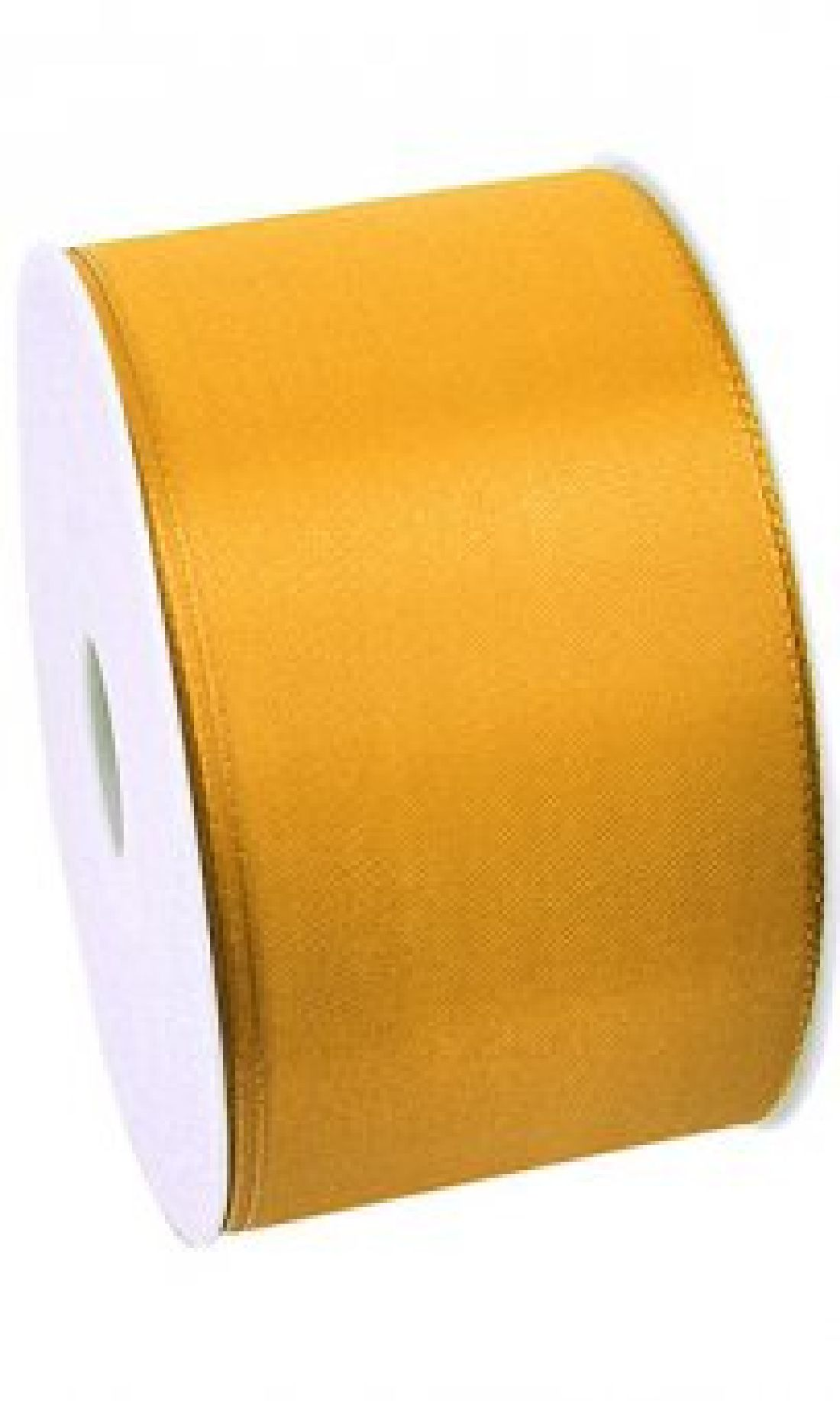 Basic ohne Draht / Taftband GELB 16 60mm 50m
