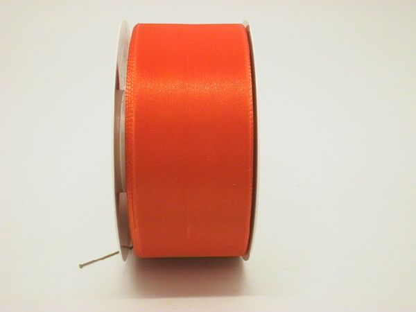 Basic ohne Draht / Taftband ORANGE 401 60mm 50m
