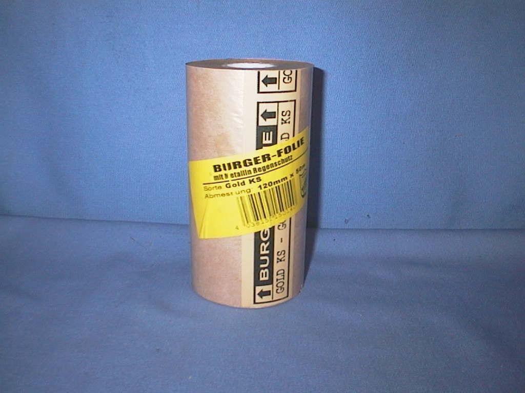 Prägepapier BURGER 08 GOLD 120mm