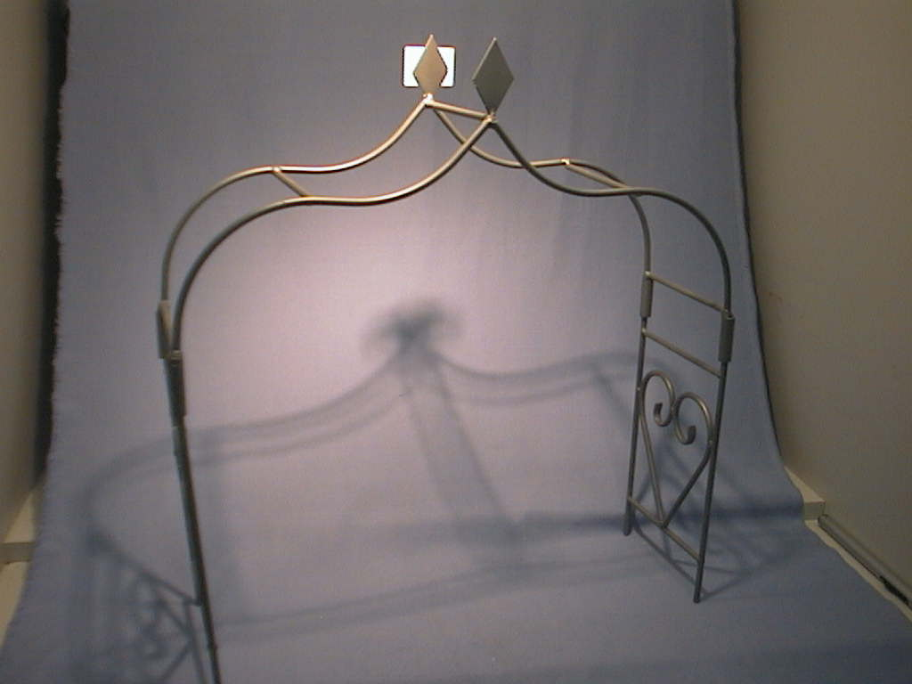 Rosenbogen GRAU klein B=40 cm, H=44 cm, t=12 cm
