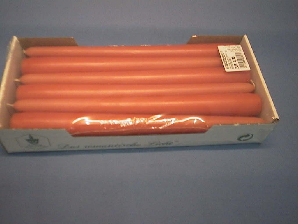 Spitzkerze konisch 66 mandarin 250 / 25mm