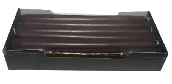 Spitzkerze konisch 90 SCHOKO-Braun 250 / 25mm