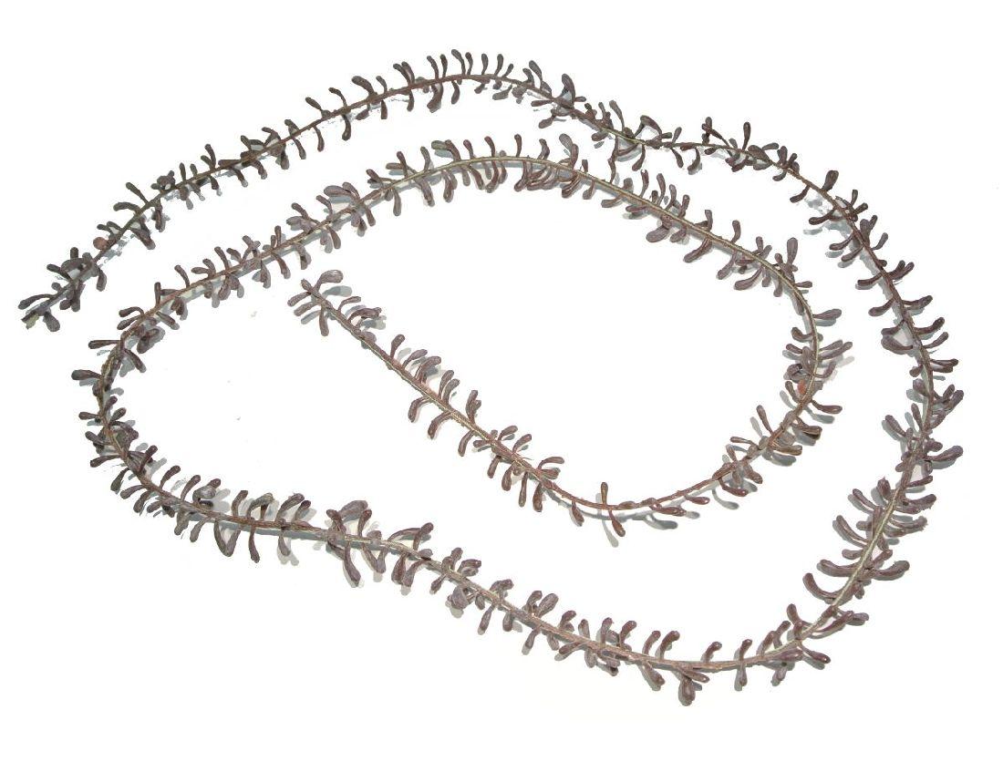 Sedum Girlande 770 braun-rot 180cm