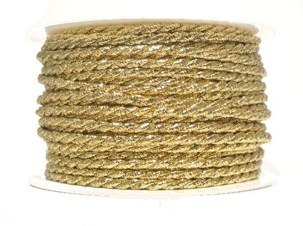 Kordel GOLD 4mm 25m