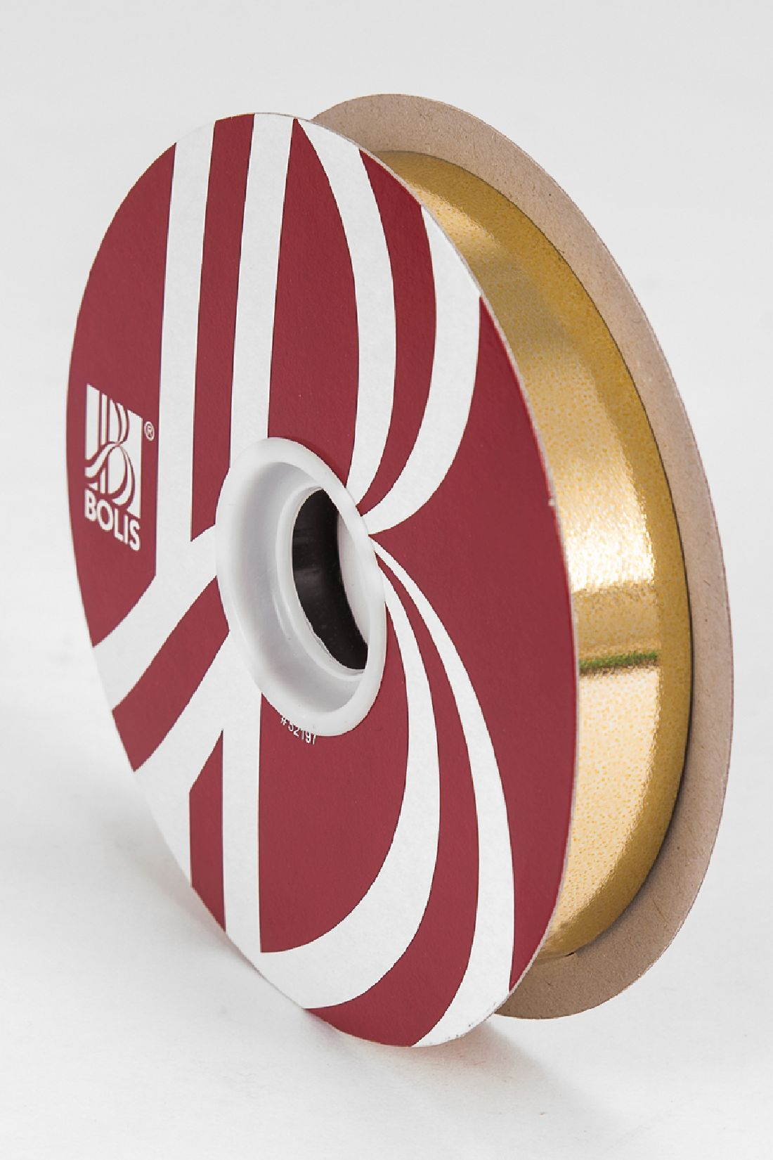 Kräuselband metallic, Ziehband GOLD 02 Geschenkband 19mm 100Meter