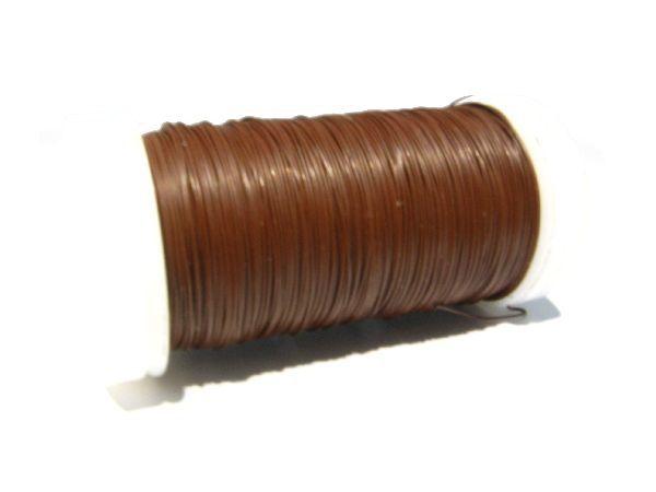 Myrtendraht BRAUN 0,35 mm / 100 Gramm