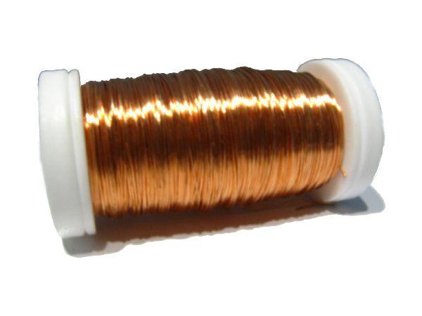 Myrtendraht KUPFER 0,35 mm / 100 Gramm