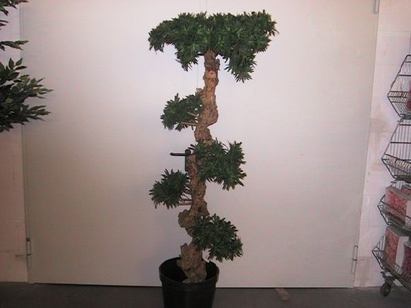 Bonsai Palmenbaum GRÜN 180cm 6960 Blätter