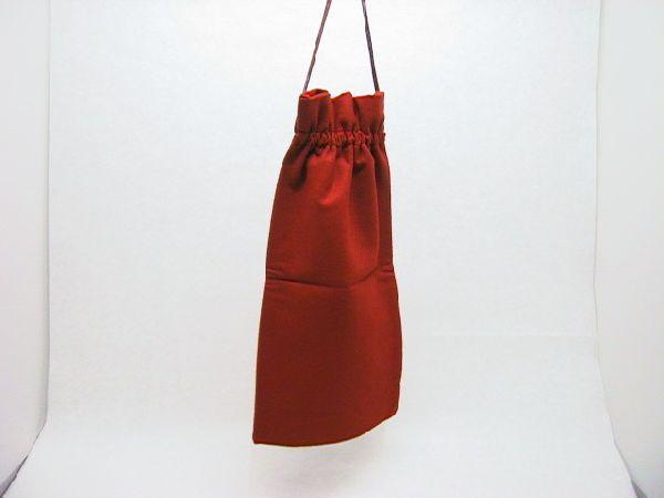 Filz-Tasche DUNKELORANGE 18x38cm