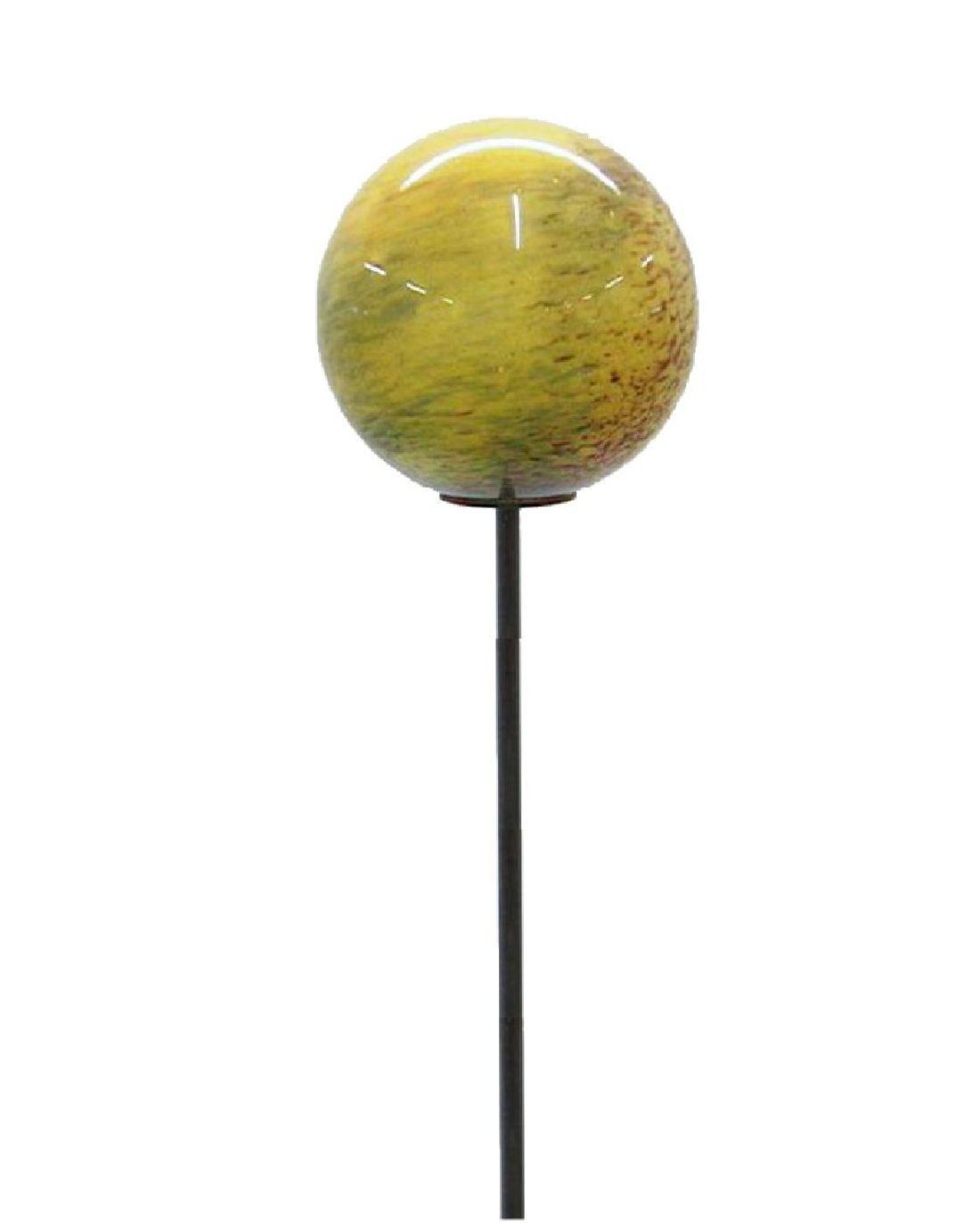 Gartenstab m.Kugel BUNT 15cmx165cm