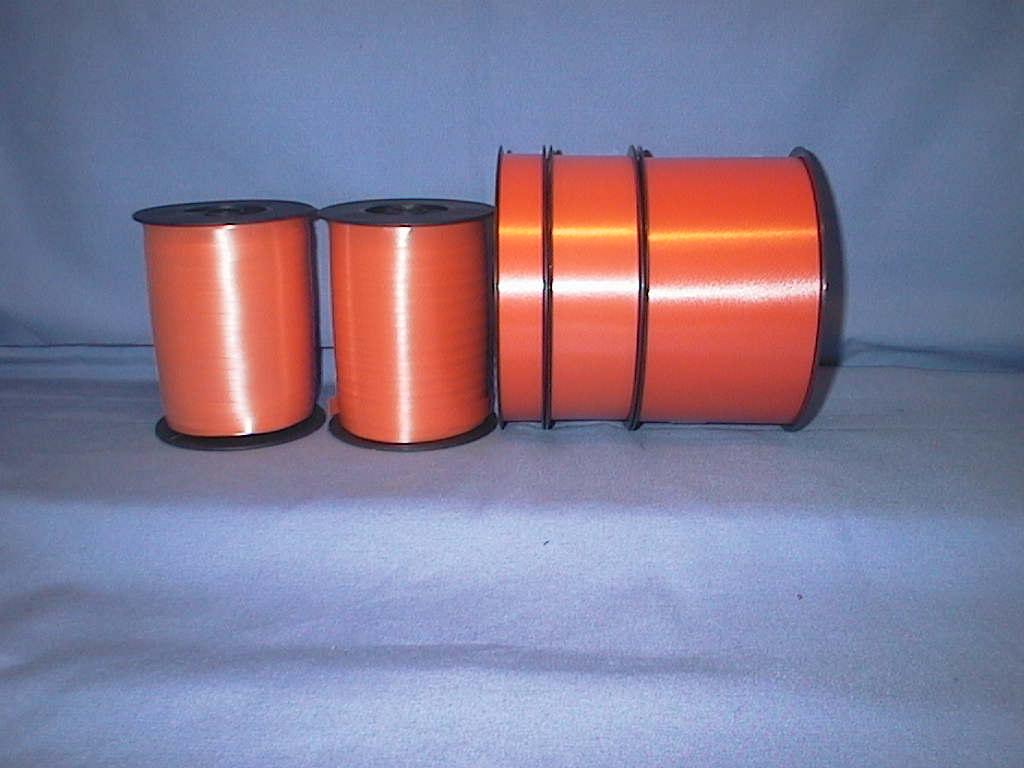 Kräuselband, Ziehband ORANGE 09 4,8mm 500m