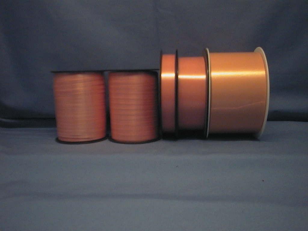 Kräuselband, Ziehband APRICOT 29 19mm 91m