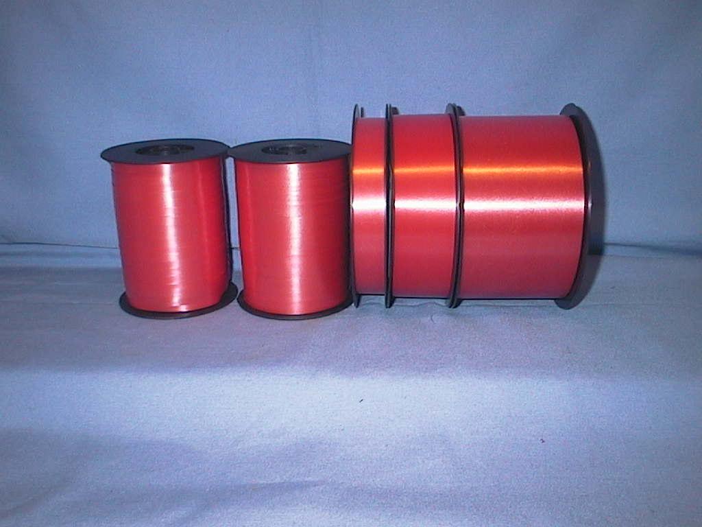 Kräuselband, Ziehband ROT 11 19mm 100m S.Sch