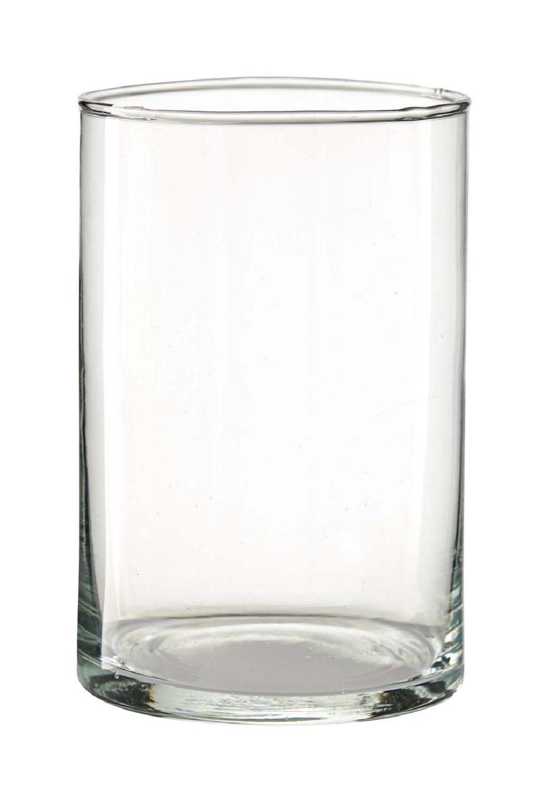 Zylinder Glas press KLAR 1850/15 Ø10cm x H15cm